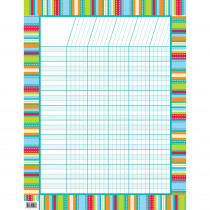 CTP1418 - Stripes & Stitches Chart Dot in Classroom Theme