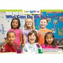 CTP15859 - Who Can Go To School Learn To Read in Learn To Read Readers