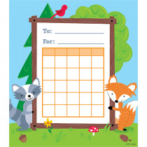 CTP1724 - Woodland Friends Student Incentive Chart in Incentive Charts