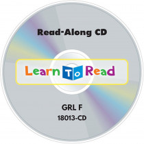 CTP18013CD - Read Along Cd 13 Lvl F Learn To Read in Book With Cassette/cd