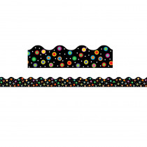 CTP1932 - Dots On Black Wavy Border in Border/trimmer