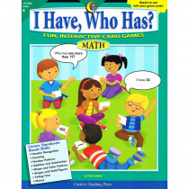 CTP2202 - I Have Who Has Math Gr K in Math