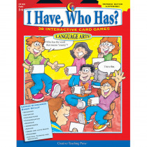 CTP2207 - Language Gr 5-6 I Have Who Has Series in Language Arts