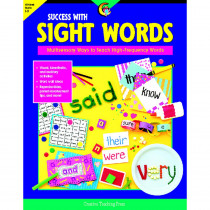 CTP2298 - Success With Sight Words Gr 1-3 in Sight Words