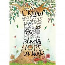 CTP2303 - Jeremiah 29 11 Rejoice Poster Inspire U in General