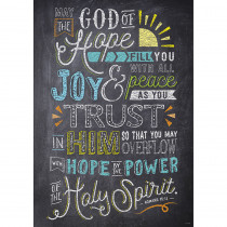 CTP2375 - Romans 15 13 Rejoice Poster Inspire U in General