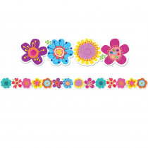 CTP2680 - Springtime Blooms Border in Holiday/seasonal