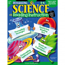 CTP2816 - Integrating Science W/ Read 5-6 Reading Instruction in Cross-curriculum Resources