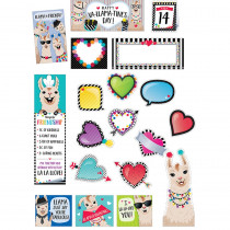 CTP3117 - Happy Vallamatines Day Mini Bulletin Board Set in Holiday/seasonal