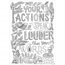 CTP3199 - Your Actions Inspire U Poster in Inspirational