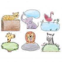 CTP3379 - 10In Safari Friends Designer Cutout in General