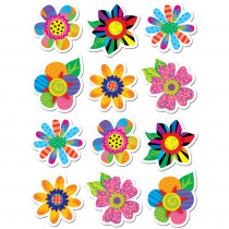 CTP4114 - Poppin Patterns Spring Flowers Stickers in Holiday/seasonal