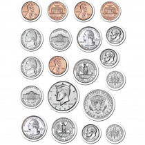 CTP4128 - Coins Stickers in Math