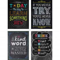 CTP4235 - Chalk It Up Motivational Stickers Inspire U in General