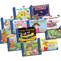 CTP4288 - Reading For Fluency Readers Set 1 Variety Pk in Learn To Read Readers