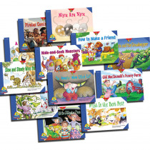 CTP4289 - Reading For Fluency Readers Set 2 Variety Pk in Learn To Read Readers