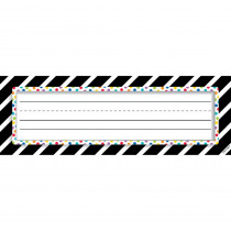 CTP4299 - Bold Stripes/Dots Nameplates Bold And Bright in General