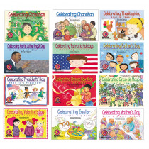 CTP4534 - Holiday Series Variety Pk 12-Set Of Books 1 Ea 4522-4533 in Holiday/seasonal