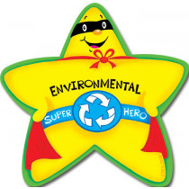 CTP4624 - Environmental Super Hero Star Badge in Badges