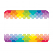 CTP4821 - Painted Palette Rainbow Labels Scallops in Accessories