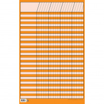 CTP5076 - Chart Incentive Small Orange in Incentive Charts