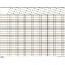 CTP5081 - Chart Incentive Horizontal White 28 X 22 in Incentive Charts