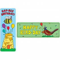 CTP5555 - Hap-Bee Birthday Bookmarks in Bookmarks