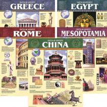 CTP5557 - Ancient Civilization Chart Pack in Social Studies