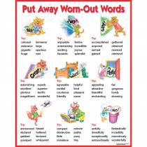 CTP5624 - Chart Put Away Worn-Out Words in Motivational