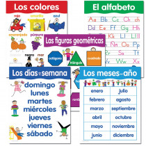 CTP5792 - Spanish Basic Skills 5 Chart Pack in Charts
