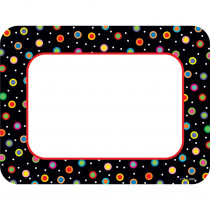 CTP6233 - Dots On Black Cards Pp Cut Outs in Accents
