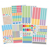CTP6296 - Lesson Planner Stickers in Stickers