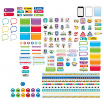 CTP6297 - Emoji Lesson Planner Stickers in Stickers