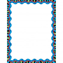 CTP6425 - Stripes On Jumbo Dots Blank Chart in Classroom Theme