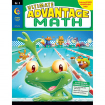 CTP6739 - Ultimate Advantage Math Gr 3 in Activity Books