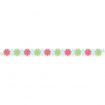 CTP6807 - Peppermint Candies Border in Holiday/seasonal