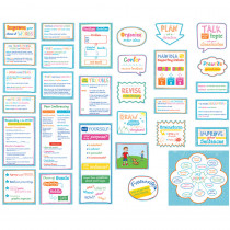CTP6966 - Become A Better Writer Mini Bulletin Board Set in Language Arts