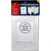 CTP6971 - Expository Writing Organizer Fold Outs Gr 2-3 30 Set in Writing Skills