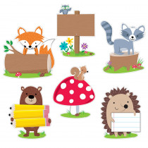 CTP7048 - Woodland Friends 10In Cut Outs in Accents