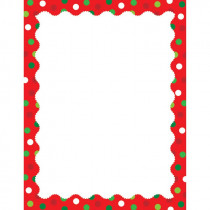 CTP7120 - Holiday Dots Computer Paper in Design Paper/computer Paper