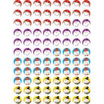 CTP7171 - Snowmen Hot Spots Stickers in Holiday/seasonal