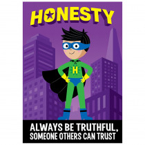 CTP7277 - Honesty Superhero Inspire U Poster in Inspirational