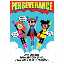 CTP7278 - Perseverance Superhero Poster Inspire U in Inspirational