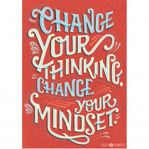 CTP7283 - Change Your Thinking Poster Inspire U in Inspirational