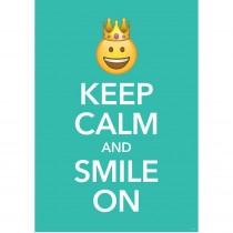 CTP8099 - Keep Calm Inspire U Poster Emoji Fun in Inspirational