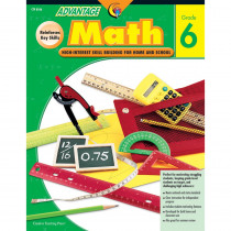 CTP8106 - Advantage Math Gr 6 in Activity Books