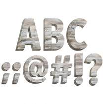 CTP8162 - Rustic Wood 6In Designer Letters in Letters