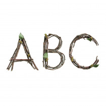 CTP8163 - Rustic Twigs 6In Designer Letters in Letters
