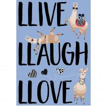 CTP8167 - Llive Llaugh Llove Inspire U Poster in Inspirational