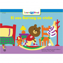 CTP8270 - El Oso Barney Se Viste - Barney Bear Gets Dressed in Books